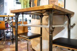 オリジナル家具のアイアンライフ・横浜ビール