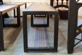 オーダー家具のアイアンライフ・ベンチスタイル