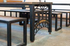 オリジナル家具のアイアンライフの装飾